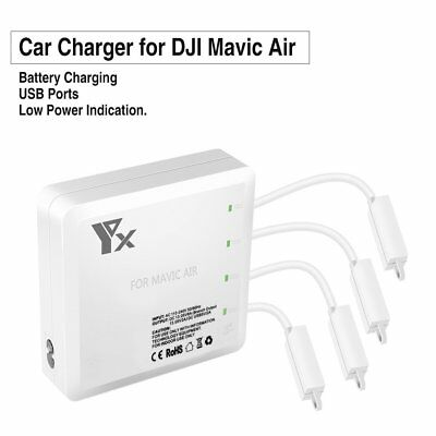 Charger for DJI Mavic Air Charging Multi Battery and Remote controller 6 PortsQ*