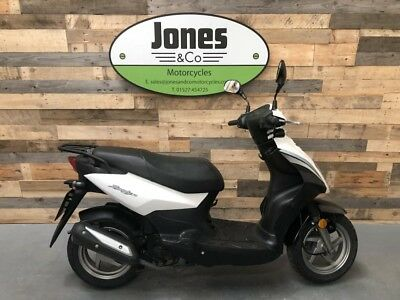 Sym Symply 50cc (2018) Metallic White. £900 Delivery available.