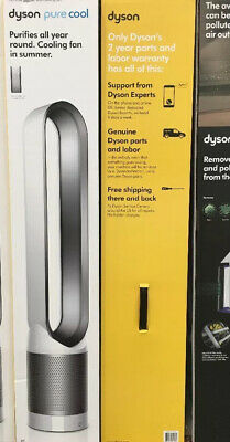 Dyson AM11 Pure Cool TP01 HEPA Tower Fan White/Silver, One Unit, SHIP FROM STORE