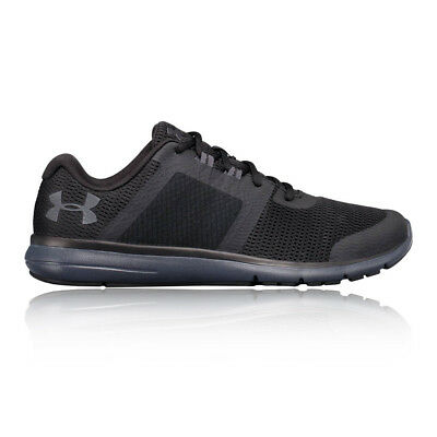 Under Armour Mens Fuse FST Running Shoes Trainers Sneakers Black Sports