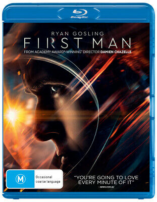 First Man (Blu-ray/UV)  - BLU-RAY - NEW Region B