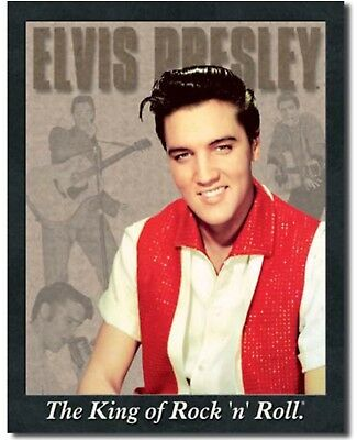 The Elvis Presley Quote The King Of Rock N Roll Music Musician Metal
