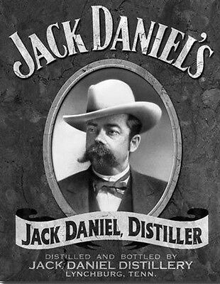 Jack Daniels Tin Metal Sign Whiskey Retro Vintage Advertising Bar Home Decor