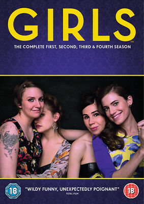Girls: The Complete First, Second, Third & Fourth Season DVD (2016) Lena Dunham