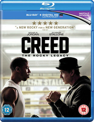 Creed DVD (2016) Sylvester Stallone ***NEW***