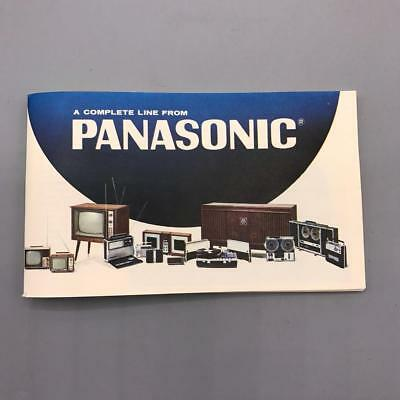 Vintage Panasonic The Complete Line Catalog 1960's jds