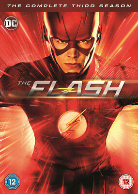 The Flash: The Complete Third Season DVD (2017) Grant Gustin ***NEW***