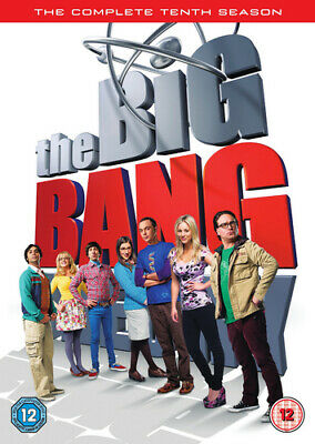 The Big Bang Theory: The Complete Tenth Season DVD (2017) Johnny Galecki