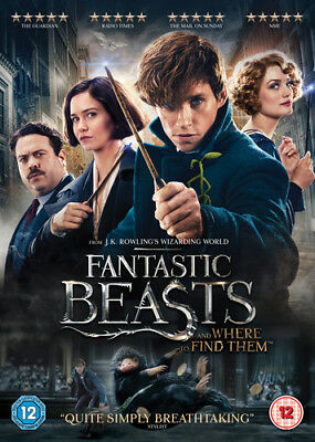 Fantastic Beasts and Where to Find Them DVD (2017) Eddie Redmayne ***NEW***