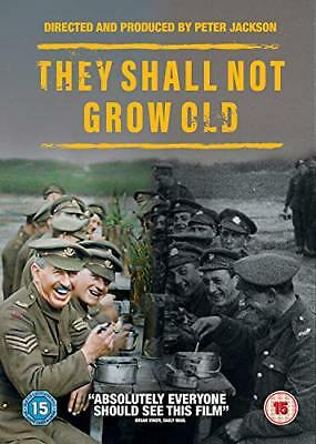 They Shall Not Grow Old [DVD] [2018][Region 2]