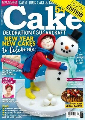 Cake Decoration & Sugarcraft (Issue 244 - January 2019)