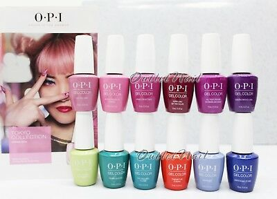 OPI Soak-Off GelColor TOKYO Collection SPRING SUMMER 2019 @PICK Any Gel Polish
