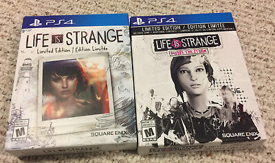 Life Is Strange 1 & 2 (Before the Storm) Limited Editions Playstation 4 PS4