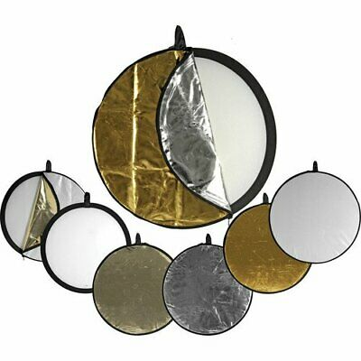 """OPEN BOX Impact 5-in-1 Collapsible Circular Reflector Disc 42"""" Free S/H"""