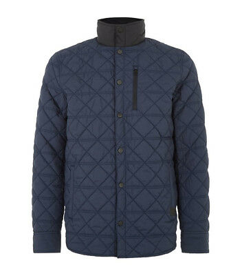 NWT VICTORINOX Swiss Army Thermore Insulated Quilted 'Bernhold' Jacket Blue sz M