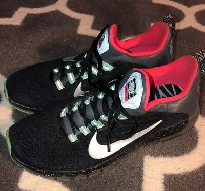 aa41afe135b5 MENS NIKE FREE Tr Force Flyknit Premium Training Shoes size 11.5 ...