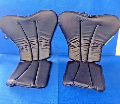 Birkova LS-9025 1 Pair of Allen Medical Yellow Stirrup/Banana Boot Pads Surgical