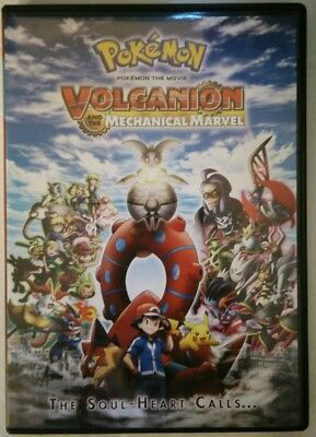 Pokemon the Movie: Volcanion and the Mechanical Marvel (DVD, 2017)