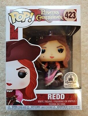 Funko POP - Redd - Pirates of the Caribbean - USA Disney Parks Exclusive IN HAND