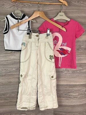 Girls 5 6 Years Summer Trousers Top T Shirt Bundle Next River Island 8630