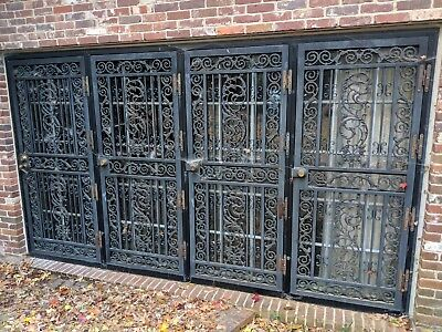 Heavy Wrough Iron Doors. I have 4 single and a double set
