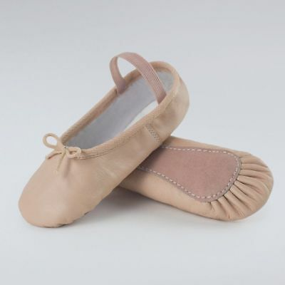 Ritz Pink Leather Full Sole High Quality Ballet Shoes - Various Sizes