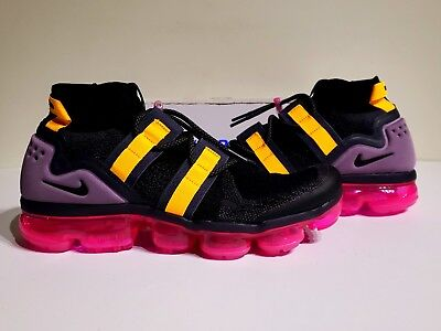 "Nike Air Vapormax Flyknit Utility ""Pink Blast"" AH6834-006 Mens Size 12.5 NO LID"