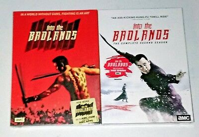 New! Into The Badlands: Seasons 1 & 2, 1 2. 5 Disc Bundled Dvd Set. Ships Free