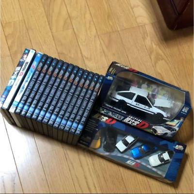 Initial D Fourth Stage DVD Complete Set of 12 Mini Car Anime Hobby B28C