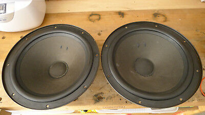Vintage Philips 12 inch Woofers  AD1215/W8
