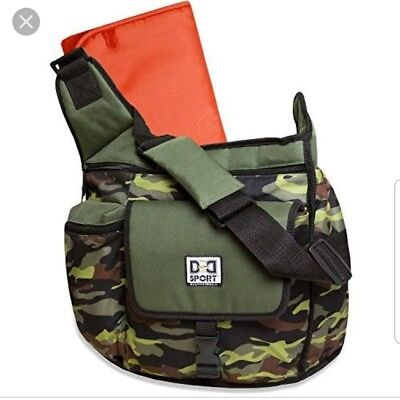 Diaper Dude Nappy Bag by Chris Pegula Fire Fly Camo Sling Messenger Diaper Bag