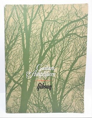 1966 Gibson Guitars Amplifiers Product Catalog Banjos Acoustic Electric Vintage