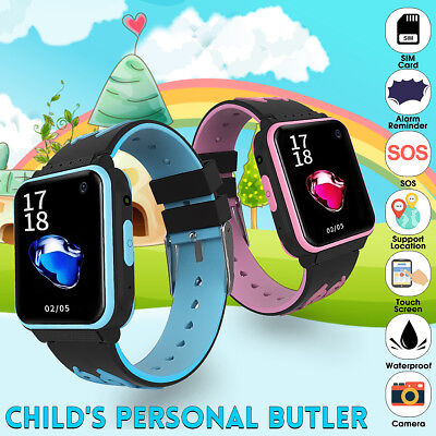 Kids Smart Watch SIM Card Anti-lost SOS Call Phone Waterproof Touch Wristban AU