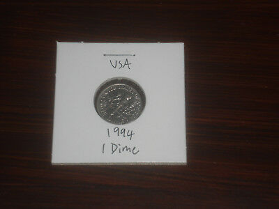 1994 USA 10 Cent coin United States of America ten cents American dime