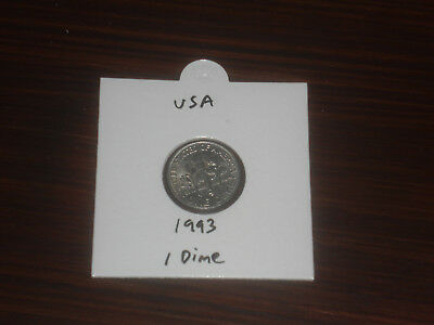 1993 USA 10 Cent coin United States of America ten cents American dime