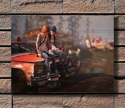 Life Is Strange Game Poster Fabric 8x12 20x30 24x36 E-585