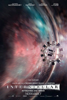 BY649 New Interstellar Christopher Nolan Movie Fabric Poster 40in Hot Decoration