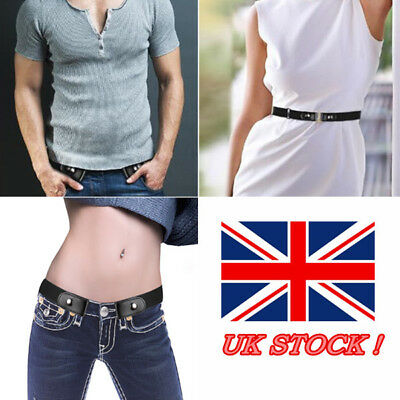 Buckle-Free Elastic Belts Women's Invisible Belt for Jeans No Bulge Hassle HOT G