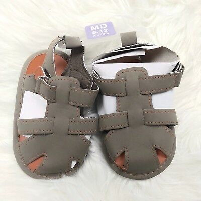 Luvable Friends Baby Boys 6-12 Months Light Weight Summer Sandals Shoes New NWT