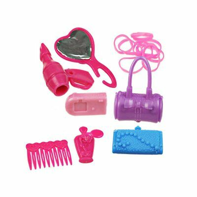 42pcs Items For Barbie Doll, Shoes, Jewellery Set Accessories Pes