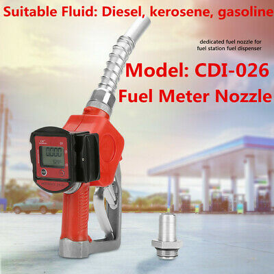 Digital Fuel Oil Diesel Kerosene Gasoline Nozzle Gun with Flow Meter