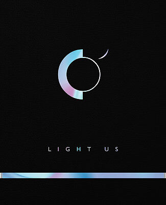 ONEUS-LIGHT US (1st Mini Album) CD+Booklet+2 Photo Card+Message Card SEALED New