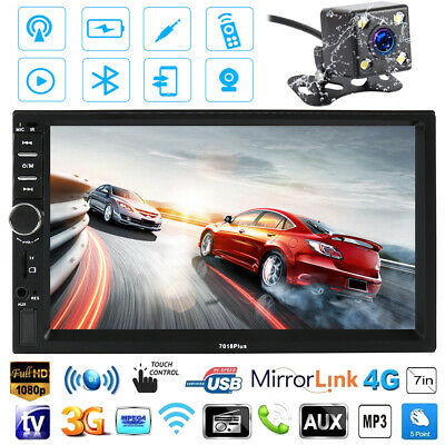 "7"" 2din Car DVD CD Audio MP5 Player Stereo Map /Radio & Reverse Camera"
