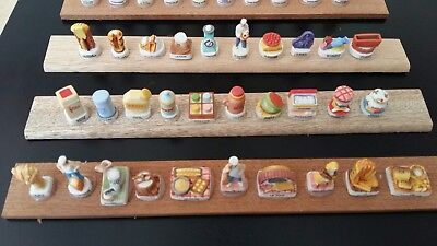 LOT 5 SERIE FEVES boulangerie - boites - ingredients - totems - chatons