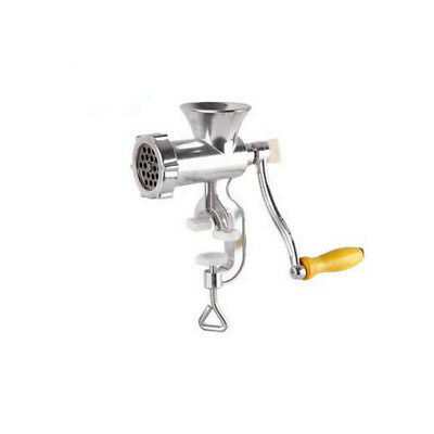 Heavy Duty Meat Mincer Grinder Manual Hand Operated Kitchen Beef Sausage Maker S