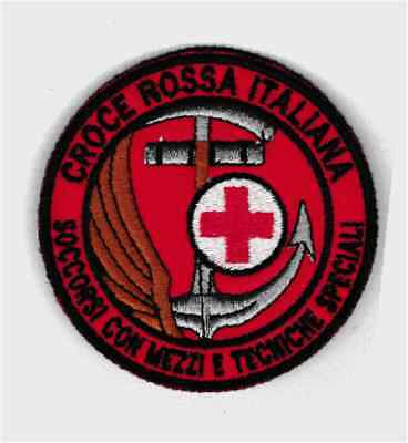 patch CRI RELIEF AID CREW TECHNICAL SPECIAL diameter 8 cm patch embroidery -704