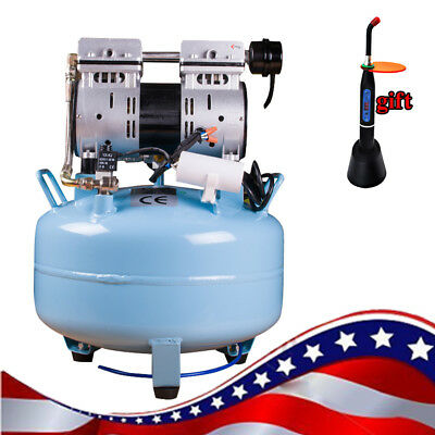 130L/min Dental Medical Silent Noiseless Oilless Air Compressor for medical Car