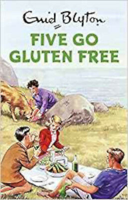 Five Go Gluten Free (Enid Blyton for Grown Ups), New, Vincent, Bruno Book