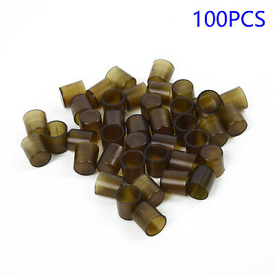 100x Beekeepers Bee Queen Royal Beekeeping Raise Rearing Cell Cup Brown Tool Pro