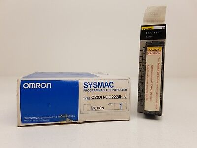 OMRON C200H-OC222 output unit 12 out Staffel 250 V AC 24 VDC